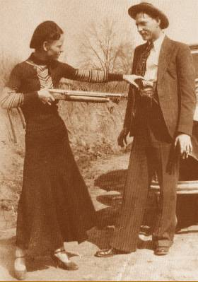 Photo de Bonnie et Clyde